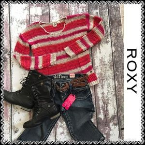 ROXY heavy knit sweater, size S/P